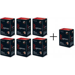 Vergnano Cremoso - kapsle pro Nespresso 6+1 ZDARMA