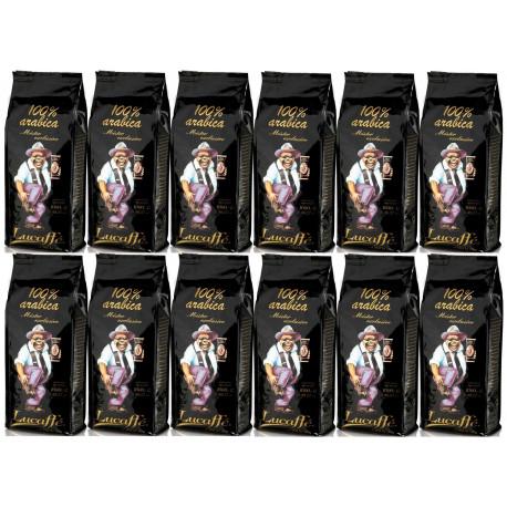 Lucaffe mr. exclusive 100% arabika zrnková káva 12 x 1 kg