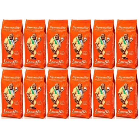 Lucaffe Espresso Bar zrnková káva 12 x 1 kg