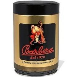 Bialetti Moka Express + Barbera Mago mletá káva 250g + Barbera šálek na espresso + Barbera šálek na cappuccino
