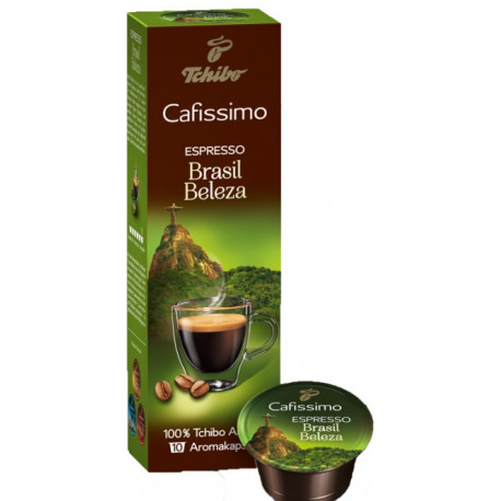 Tchibo Cafissimo Espresso Brazil Beleza 85g