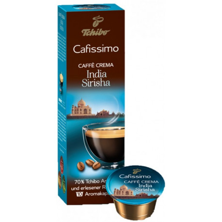 Tchibo Cafissimo Caffè Crema India Sirisha 75g