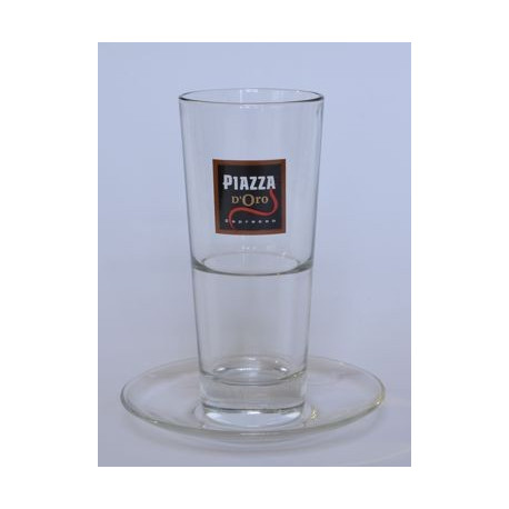 Piazza d´Oro sklenice Caffé Latté