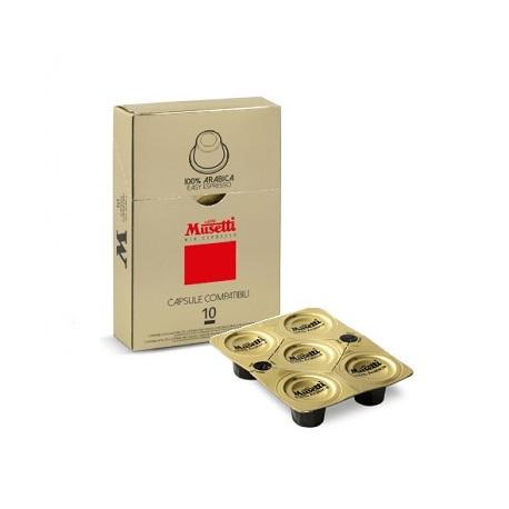 Musetti 100% Arabica kapsle pro Nespresso kávovary, balení 10ks
