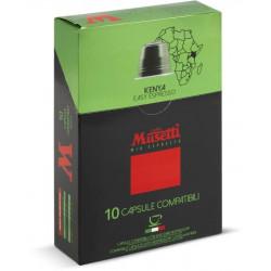 Musetti Kenya kapsle pro Nespresso kávovary, balení 10ks