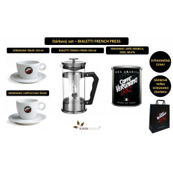 Dárkový set - BIALETTI FRENCH PRESS
