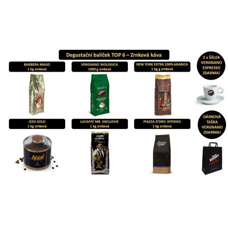 Vánoční balíček - Degustační set, mletá káva