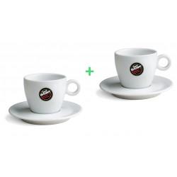 Vergnano porcelánové šálky na cappuccino 1+1