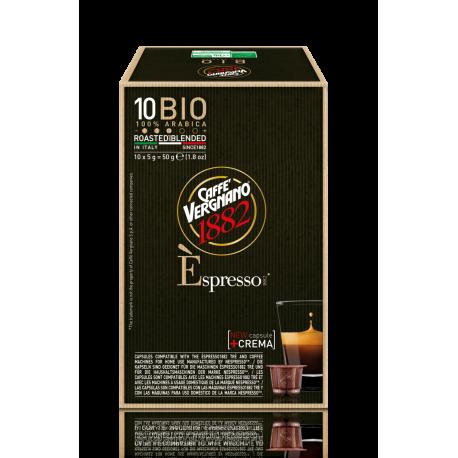 Vergnano Bio - kapsle pro Nespresso kávovary