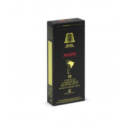 Musetti Brasile kapsle pro Nespresso kávovary, balení 10ks