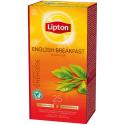 Lipton English breakfast černý čaj 25 sáčků 50g
