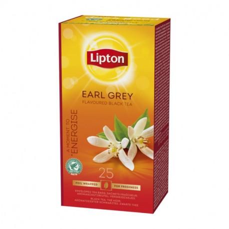 Lipton Earl Grey černý čaj aromatizovaný 25 x 2g