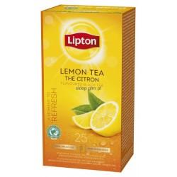 Lipton Lemon černý čaj aromatizovaný s citrónem 25 x 1,6g
