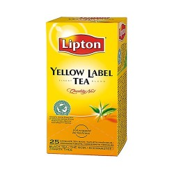 Lipton Yellow Label Black tea 25 x 1,8g