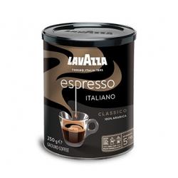 Lavazza Caffé Espresso 250g, mletá káva