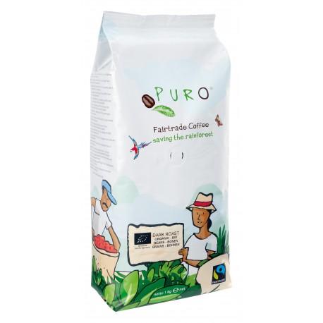 PURO BIO DARK ROAST 1 kg Zrnková káva