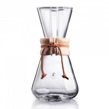 Chemex Kávovar na 1-3 šálky, dřevěný korzet