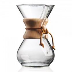 Chemex Kávovar na 6 šálků, dřevěný korzet