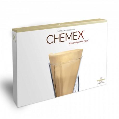 Chemex papírový filtr na 1-3 šálky, natur. 100 ks.