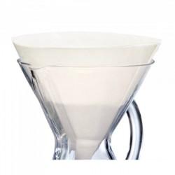 Chemex papírový filtr na 6-10 šálků. 100 ks.